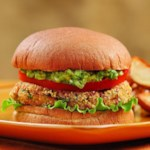 Bean Burgers with Spicy Guacamole