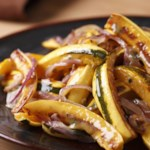 Oven-Roasted Squash with Garlic & Parsley Recipe - EatingWell