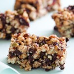 Chocolate-Cherry Snack Bars