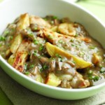 Oven-Fry Poutine with Mushroom Gravy