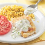 Fish Fillets with Cucumber Raita