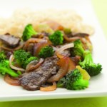 Stir-Fried Chile Beef & Broccoli