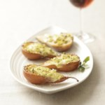 Roasted Pears with Brie & Pistachios