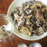 Sauteed Mushrooms with Caramelized Shallots