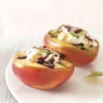 Grilled Nectarines with Mascarpone Cream