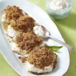 Breadcrumb-Crusted Cod for Two