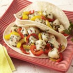 Scallop & Pepper Tacos