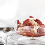 Vanilla Strawberries with Lemon Ricotta