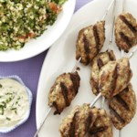 Turkey Kofta with Tahini Sauce