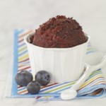 Ginger-Blueberry Sorbet