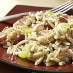Orzo & Grape Salad with Feta & Mint