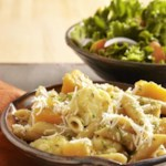 Braised Cauliflower & Squash Penne for Two