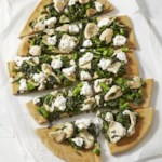 Broccoli Rabe & Chicken White Pizza