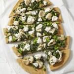 Broccoli Rabe & Chicken White Pizza
