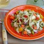 Italian Marinated Vegetable Salad