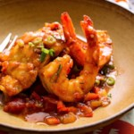 Sauteed Snapper & Shrimp with Creole Sauce