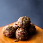 Tuscan Pork Meatballs