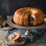 Blueberry-Ginger Bundt Cake