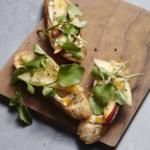 Pear & Camembert Crostini