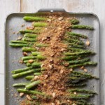 Roasted Asparagus with Parmesan Breadcrumbs