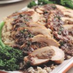 Gorgonzola & Prune Stuffed Chicken