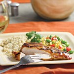Grilled Chicken with Chipotle-Orange Glaze