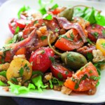 Spanish-Inspired Tomato Salad