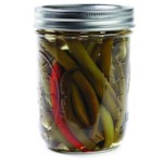 Sweet Pickled Green Beans
