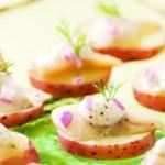 Scandinavian Pickled Herring Bites