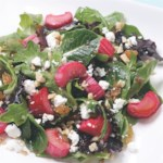 Roasted Rhubarb Salad