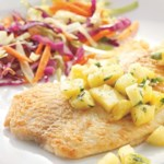 Fish Fillets with Pineapple-Jalapeno Salsa