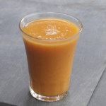 """Get Your Orange"" Flax Smoothie"