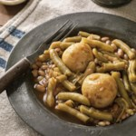 Meatless Mountain Green Beans with Potatoes