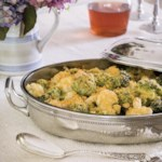 Cauliflower, Romanesco & Broccoli Gratin