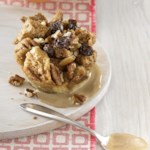 Mini Rum-Raisin Bread Puddings