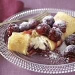 Cherry-Ricotta Blintzes