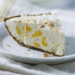 Mango-Coconut Ice Cream Pie