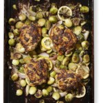 Paprika Chicken Thighs with Brussels Sprouts for Two