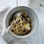 Creamy Cherry-Walnut Oatmeal