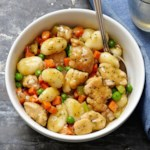 Chicken & Gnocchi Dumplings for Two