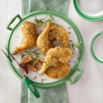 Baked Chicken with Tarragon & Dijon Mustard