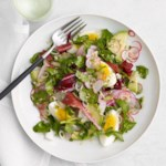 Watercress Salad with Sesame-Garlic Dressing