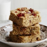Bacon-Date Whole-Grain Blondies