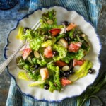 Maine Blueberry & Lobster Salad