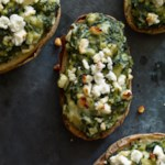 Spanakopita Loaded Potatoes