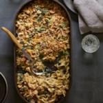 Spinach & Tuna Noodle Casserole