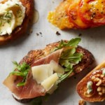 Arugula-Pecorino Cheese Toast