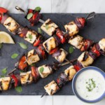 Lemon & Herb Tofu Kebabs