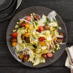 Heirloom Tomato & Summer Vegetable Salad