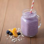 Blueberry-Peach Pie Smoothie
